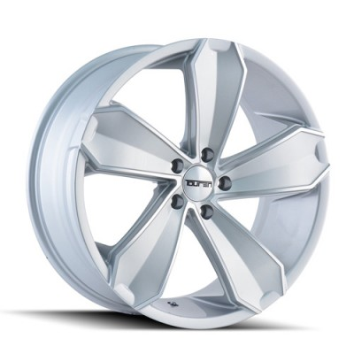 Touren TR71 Machiné Silver / Argent Machiné, 20X10, 5x114.3 ,(déport/offset 40 ) 72.62