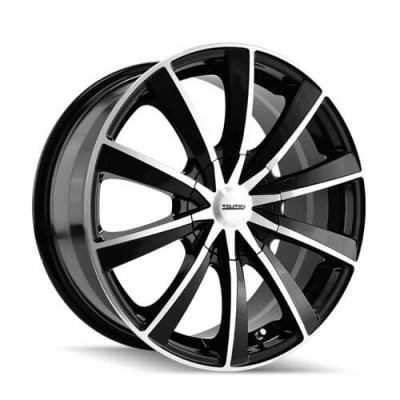 Touren TR10 Machine Black wheel (17X7, 5x110/115, 72.62, 42 offset)