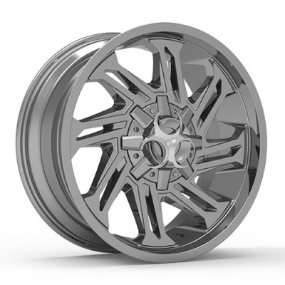 TOXIC RAZR Chrome wheel (20X10, 5x114.3/127, 78.1, -25 offset)