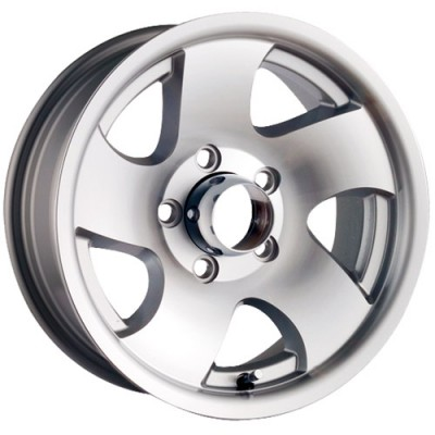 Trailer Wheels 10 Silver / Argent, 14X6, 5x114.3 ,(déport/offset 0 ) 83.82