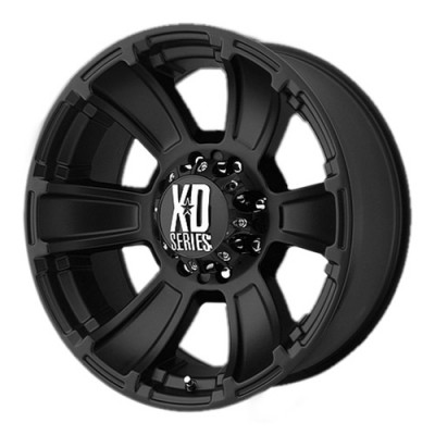 KMC Wheels Revolver Matte Black wheel (20X10, 6x139.7, 106.25, -24 offset)