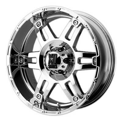 Xd Series By Kmc Wheels Spy, Chrome Plated/Plaqué chrome, 17X9, 6x139.7, (offset/déport -12) ,106.25