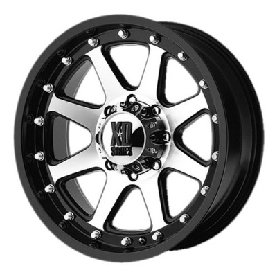KMC Wheels Addict Matt Black Machine wheel (18X9, 6x114.3, 72.6, 18 offset)