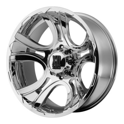 KMC Wheels Crank Chrome wheel (20X9, 5x127, 78.3, 0 offset)