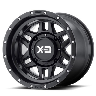 XD Atv XS128 Machete Satin Black wheel (14X10, 4x137, 112, 20.6 offset)