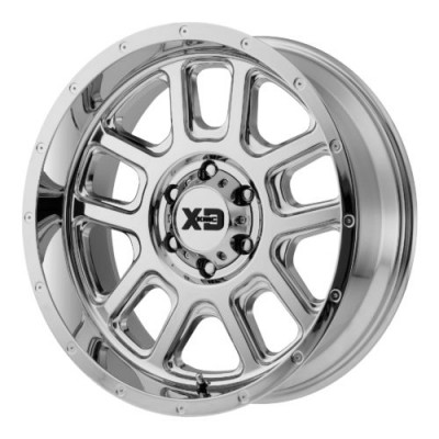 XD Series by KMC Wheels XD828 DELTA Chrome Plated wheel (20X12, 5x127, 72.60, -44 offset)