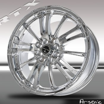 RTX Wheels Arsenic, Chrome Plaque/Chrome Plated, 16X7, 5x100/114.3 ( offset/deport 42), 73.1
