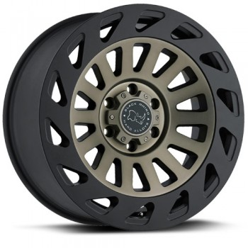 Black Rhino Madness, Noir Machine/Machine Black, 17X9, 5x127 ( offset/deport -12), 71.5