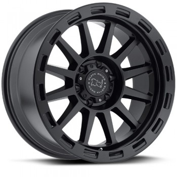 Black Rhino Revolution, Noir Mat/Black Matte, 17X9, 5x139.7 ( offset/deport 0), 78.1