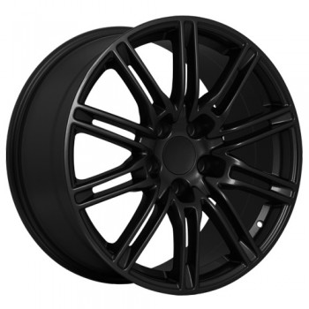 Dai Alloys Replica 26, Noir lustré/Gloss Black, 20X9.5, 5x130 (offset/deport 48), 71.5 Porsche