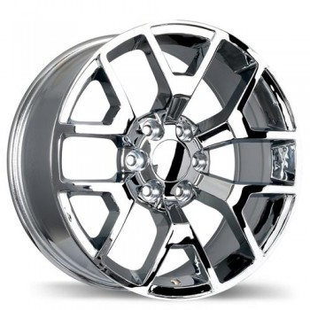 Replika R162 Chrome/Chrome, 20X9.0, 6x139.7 , (offset/deport 27 )Chevrolet