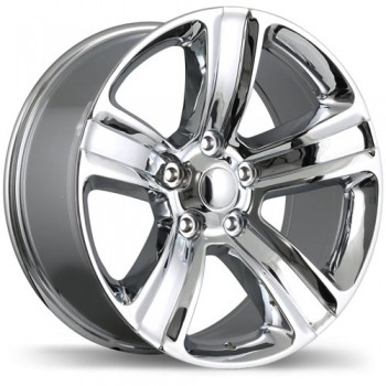 Replika R177 Chrome/Chrome, 20X9.0, 5x139.7 , (offset/deport 18 )Ram
