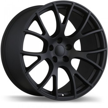 Replika R179 Matte Black/Noir mat, 20X10.0, 5x115 , (offset/deport 18 )Dodge