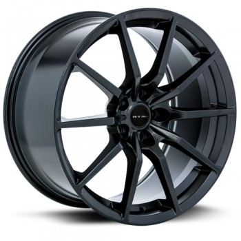 RTX Wheels 350, Noir Satine/Satin Black, 19X11, 5x114.3 ( offset/deport 55), 70.6