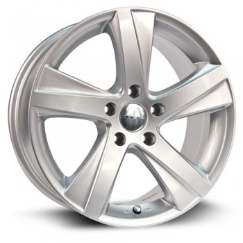 RTX Wheels Akina, Argent/Silver, 17X8, 5x114.3 ( offset/deport 45), 60.1