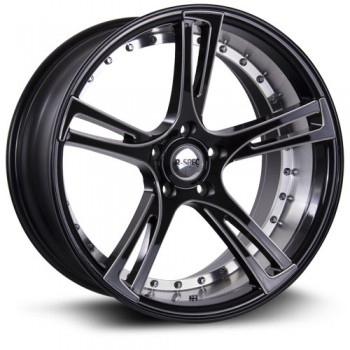 RTX Wheels Assassin, Noir Machine/Machine Black, 20X9, 5x114.3 ( offset/deport 38), 73.1
