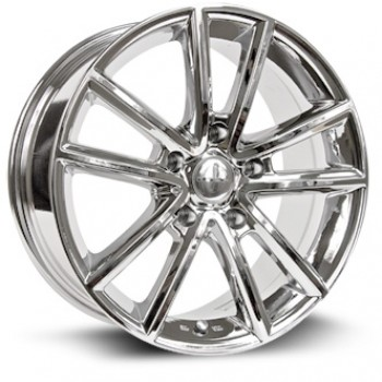 RTX Wheels Auburn, Chrome Plaque/Chrome Plated, 17X7.5, 5x127 ( offset/deport 35), 71.5
