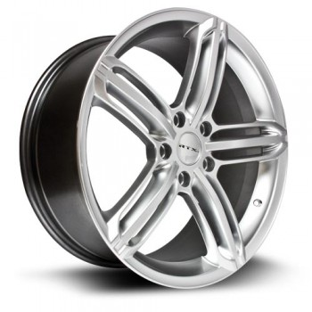 RTX Wheels Bavaria, Argent/Silver, 17X7.5, 5x112 ( offset/deport 45), 66.6
