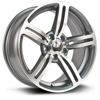 RTX Wheels Berlin, Argent/Silver, 18X8, 5x120 ( offset/deport 35), 74.1