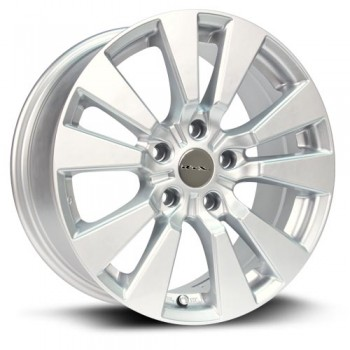 RTX Wheels Burst, Argent/Silver, 17X7.5, 5x120 ( offset/deport 45), 64.1 BMW