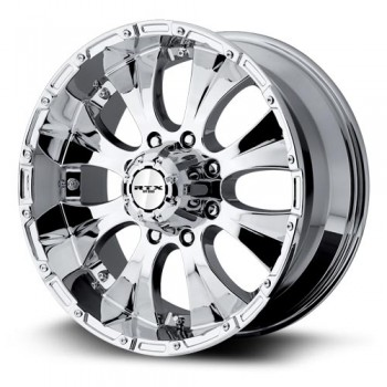 RTX Wheels Crawler, Chrome Plaque/Chrome Plated, 17X8, 6x139.7 ( offset/deport 20), 108