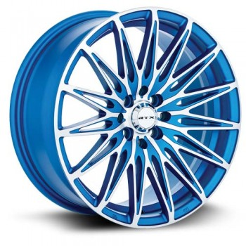 RTX Wheels Crystal, Bleu/Blue, 17X7.5, 5x110 ( offset/deport 38), 65.1