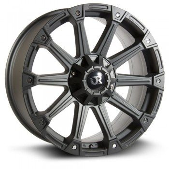 RTX Wheels Dune, Noir mat/Matte Black, 20X9, 5x135/139.7 ( offset/deport 25), 87