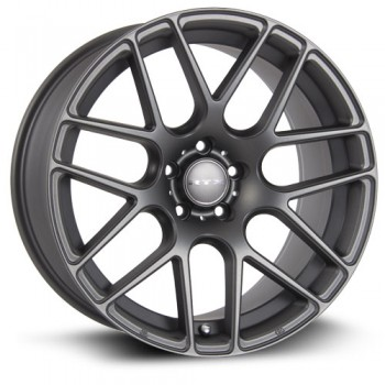 RTX Wheels Envy, Gris GunMetal Mat/Matte Gun Metal, 19X8.5, 5x112 ( offset/deport 40), 66.6