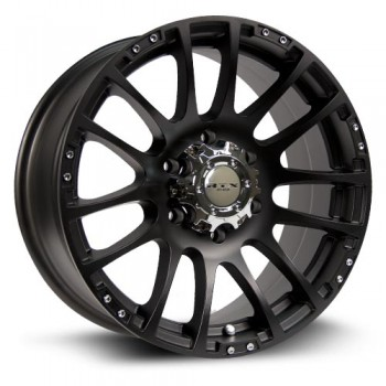 RTX Wheels Nomad, Noir Mat/Black Matte, 17X8, 6x139.7 ( offset/deport 36), 78.1