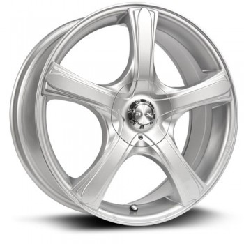 RTX Wheels S5, Argent/Silver, 16X7, 5x100/114.3 ( offset/deport 38), 73.1