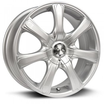 RTX Wheels S7, Argent/Silver, 17X7, 5x114.3/120 ( offset/deport 40), 73.1