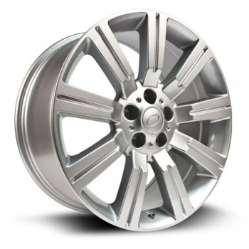 RTX Wheels Soli, Argent/Silver, 20X9.5, 5x120 ( offset/deport 50), 72.6 Land Rover