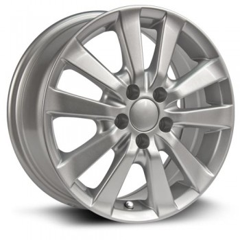 RTX Wheels Sprinter, Argent/Silver, 15X6.5, 5x100 ( offset/deport 45), 54.1 Toyota