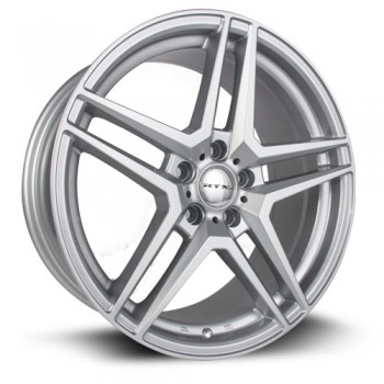 RTX Wheels Stern, Argent/Silver, 17X7.5, 5x112 ( offset/deport 43.5), 66.6 Mercedes-Benz