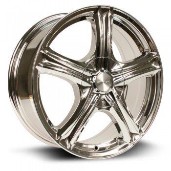 RTX Wheels Stratus, Chrome Plaque/Chrome Plated, 16X7, 5x105/114.3 ( offset/deport 38), 73.1