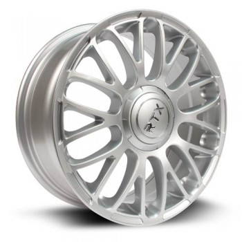 RTX Wheels Turin, Argent/Silver, 16X6.5, 4x98 ( offset/deport 35), 58.1 Fiat