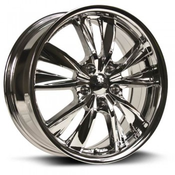 RTX Wheels Twist, Chrome/Chrome, 17X7, 5x114.3 ( offset/deport 40), 73.1