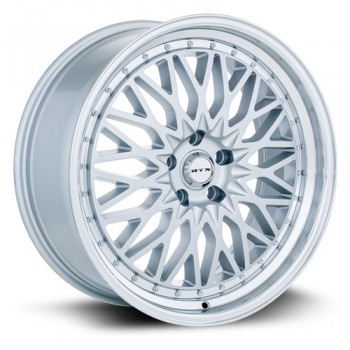 RTX Wheels Circuit, Argent Machiné /Machined Silver, 18X8, 5x112 ( offset/deport 40), 66.6