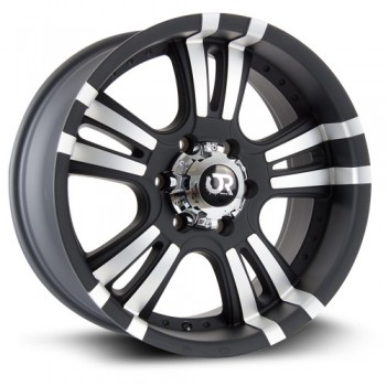 RTX Wheels ROAR II, Noir Machine/Machine Black, 17X9, 6x135 ( offset/deport 25), 87