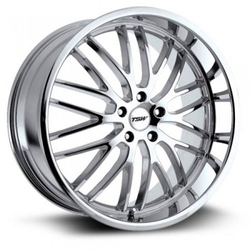 TSW Wheels Snetterton, Chrome/Chrome, 17X8, 5x114.3 ( offset/deport 40), 76