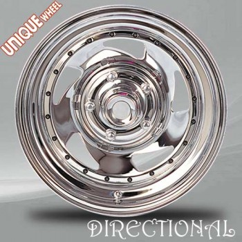 Unique Wheel Direct, Chrome/Chrome, 15X7, 5x120.7 ( offset/deport 6), 84