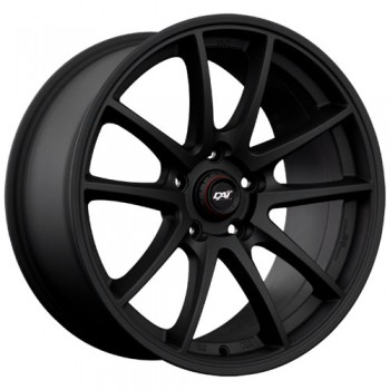 Dai Alloys R-Motion, Noir mat/Matt Black, 17X7.0, 5x114.3 (offset/deport 42), 73.1