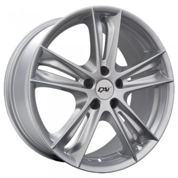 Dai Alloys Razor, Argent/Silver, 18X8.0, 5x112 (offset/deport 45), 66.6