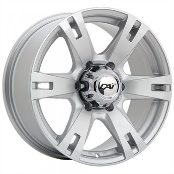 Dai Alloys Terramax, Argent/Silver, 17X8.0, 6x139.7 (offset/deport 25), 108.1
