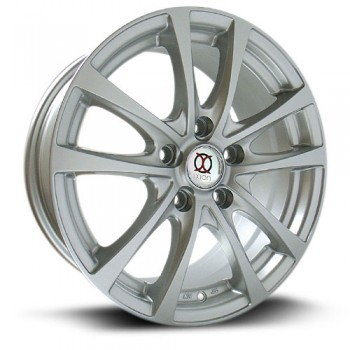 IXION IX002, Argent/Silver, 15X6.5, 5x100 ( offset/deport 40), 73.1