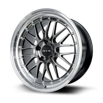 RTX Wheels Amaze II, Chrome Noir/Chrome Black, 18X8.5, 5x114.3 ( offset/deport 38), 73.1