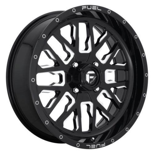 FUEL - D611 STROKE - Gloss Black