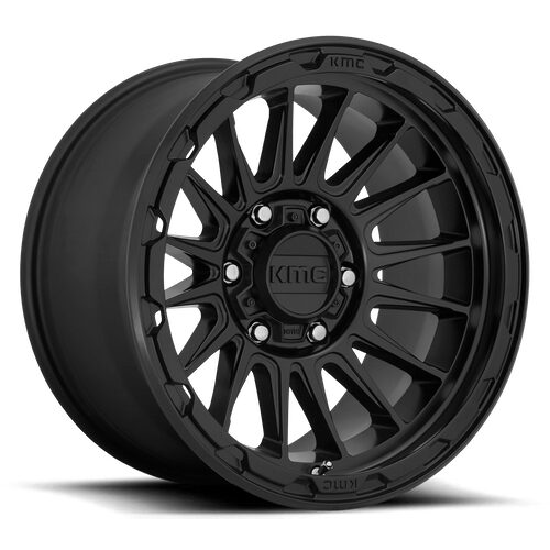 KMC Wheels - KM542 IMPACT - Satin Black