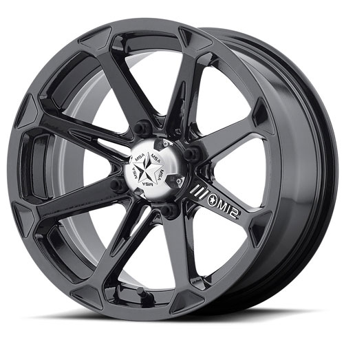 Msa Offroad Wheels - M12 Diesel - Gloss Black