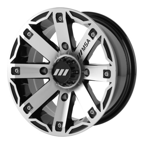 Msa Offroad Wheels - M27 Rage - Noir Machine